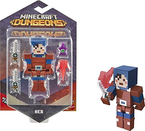 Minecraft Dungeons Figura de Juguete de...