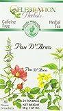 CELEBRATION HERBALS PAU D'arco Inner Bark Tea Wc 24 Bag, 0.02...