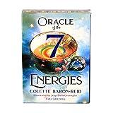 LACALA Oracle of The 7 Energies, Utilizado para Juegos de Cartas de Mesa en Interiores, Adecuado para Tarjetas de Juegos de Mesa para Fiestas y Festivales