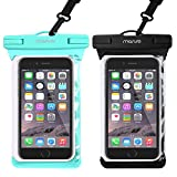 Mosiso Waterproof Case Phone Pouch IPX8 Cellphone Underwater Dry Bag with Neck Strap