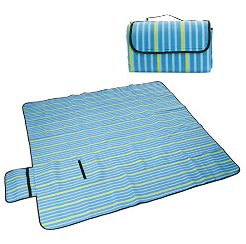 Couverture De Pique-Nique 200X200cm ImperméAble à l'eau Et à L'Humidité Tapis De Camping Portable IdéAl pour La Pelouse,C