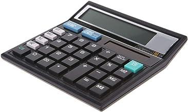 $46 » 12-Digit Solar Battery Dual Power Large Display Office Desktop Calculator