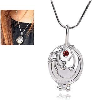 1PC The Vampire Diaries Merchandise Collana Verbena di Elena apertura Verbena Locket collana Classic puntelli di film Vamp...