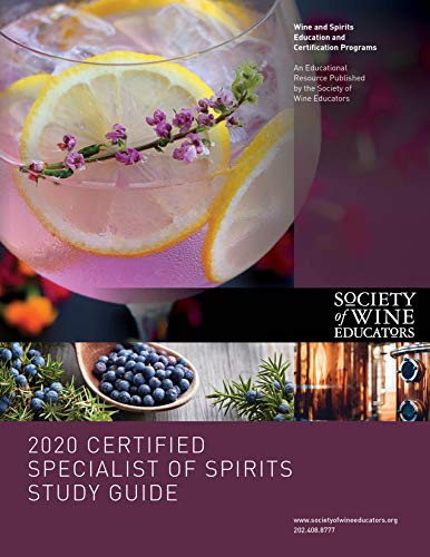 2020 Certified Specialist of Spirits Study Guide (English Edition)