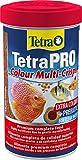 Tetra Pro Colour Multi-Crisps 500 ml - Alimento completo con un valor nutritivo óptimo, concentrado de color adicional realza la coloración de los peces