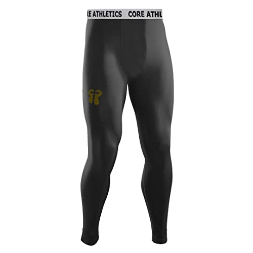 Core Athletics Alpha Compression Leggings, Compression Leggings for Men, Men's Tights, Running Tights, Men's Skinz