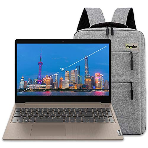 "2020 Lenovo IdeaPad 3 15"" Touchscreen HD Laptop, 10th Gen Intel Core i3-1005G1 (Beats i5-7200U), 8GB DDR4, 256GB PCIe SSD, Webcam, HDMI, Windows 10 S /Legendary Accessories"