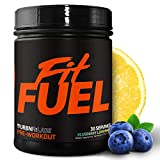 Fit Fuel Pre-Workout Supplement | Vitamins, Electrolytes, Specialized Amino Acids, and Caffeine | Energy and Performance Booster | Fast Muscle Recovery