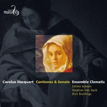 Hacquart: Cantiones sacrae & sonate