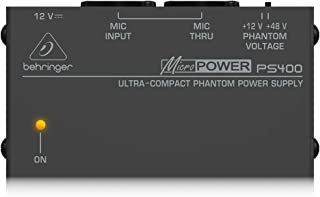 Best Behringer Micropower PS400 Ultra-Compact Phantom Power Supply Review