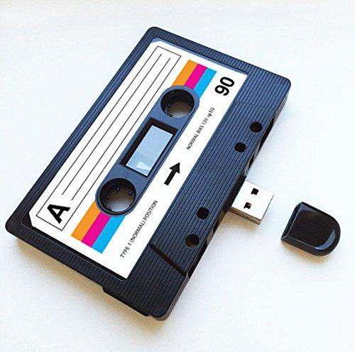 Mixtape USB (8 GB) Retro, regalo extravagante, amor, regalo, novio, novia, oficina, novedad, cumpleaños, boda, aniversario, San Valentín, para ella, regalos para él, Flash Drive