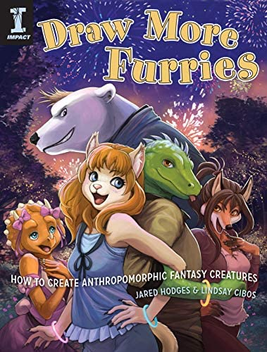 Draw More Furries How to Create Anthropomorphic Fantasy Creatures product image