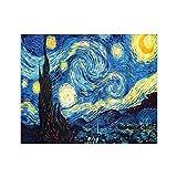A0ZBZ Decoración del Kit de Pintura de Arte, 5D DIY Starry Sky Diamond Painting Rhinestone Art Painting Starry Sky Night Kit Inicio decoración de la Pared Accesorios de Regalo
