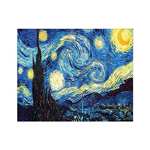 A0ZBZ Decoración del Kit de Pintura de Arte, 5D DIY Starry Sky Diamond Painting Rhinestone Art Painting Starry Sky Night Kit Inicio...