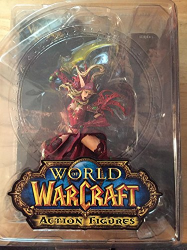 Abysse Corp - AFGDCU001 - Figurine - World of Warcraf - Blood Elf Rogue - Voleuse Elfe de Sang - Valeera Sanguinar