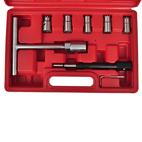Xingshuoonline Diesel Injecteur Cutter Lot de 7 pièces pour grand Diesel Véhicules