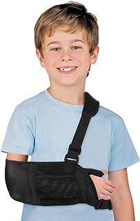 Soporte de brazo ajustable para hombro y codo, estabilización para soporte de antebrazo lesionado, brazo, muñequera, codo,...