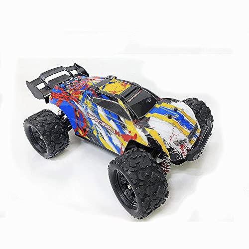 KGUANG Escala Completa 1:18 Off-Road Competitive RC Car 4WD Bigfoot Climbing 2.4G Remote Buggy All Terrain USB Vehículo de Juguete de Carga para niños Adecuado para niños y niñas Adultos