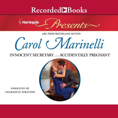 Innocent Secretary...Accidentally Pregnant audiobook cover art