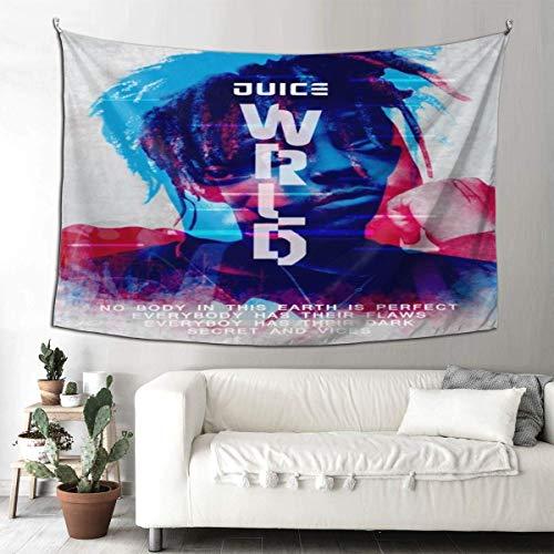 Juice Wrld - Tapiz para colgar en la pared, decoración del hogar, para dormitorio, 152,4 x 101,6 cm