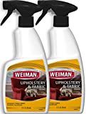 Weiman Upholstery & Fabric Cleaner - 12 Ounce (2 Pack) - Removes Tough Stains & Odors
