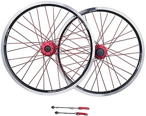 qwert Ahrrad Wheelset, 26 Pulgadas De Aleación De Aluminio MTB Ruedas De Ciclismo V-Freno De Disco Rueda Rueda Freno Sellado Almacén 11 Velocidad Híbrido Bike Touring,Negro