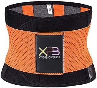 HITSAN INCORPORATION Innovative Products Best Sellers Compression Belts for Women Waist Trainer Belts Corset Cinchers Fashion Ladies Waist Belt Color Orange Size XL