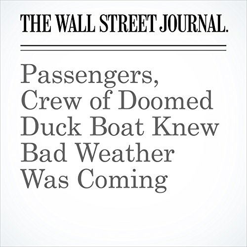 Passengers, Crew of Doomed Duck Boat Knew Bad Weather Was Coming copertina