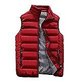 hombres chaqueta de algodón Chaleco hombres invierno Chaquetas Chalecos hombre grueso sin mangas chaqueta Abrigos masculino nuevo caliente