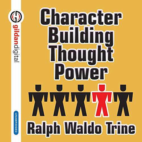 Character Building Thought Power audiobook cover art