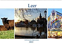 Leer - Ostfriesische Impressionen 2022 (Wandkalender 2022 DIN A2 quer): Leer, das Tor zu Ostfriesland. (Monatskalender, 14 Seiten )