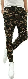 TIMEMEANS Mens Fashion Camouflage Trousers Men Pants Casual Pants Sweatpants