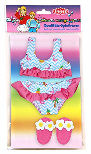 Heless 199 – Bikini con badeschl äppchen, Flamingo,