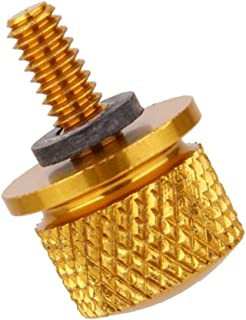 Ugthe For Gliding Cushion Screw Xl883/1200 Motorcycle Back Seat Bag Nut - Golden