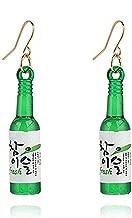YINLIN Persinalized Beer Bottle Soju Pub Dangle Earring Party Girls Jewelry