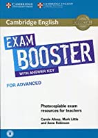 Cambridge English Exam Booster for Advanced with Answer Key with Audio: Photocopiable Exam Resources for Teachers (Cambridge English Exam Boosters)
