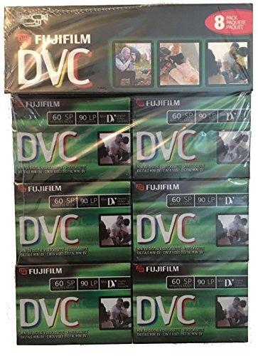 Fuji 8 Pack 60-Minute Mini DV Digital Videocassette DVM60 Fujifilm