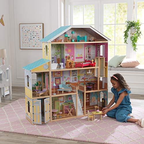 "KidKraft Majestic Mansion Dollhouse Multi, 12"" Tall"