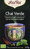 Yogi Tea Infusión de Hierbas Chai Verde - 17 bolsitas