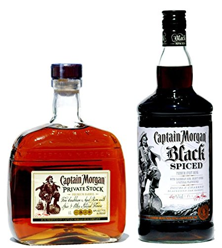 Captain Morgan SPICED Set 2 X 1,0 Liter