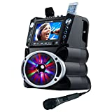 Product Image of the Karaoke USA GF842 DVD/CDG/MP3G Karaoke Machine with 7' TFT Color Screen, Record,...