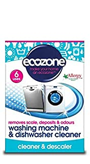 Ecozone Washing Machine and Dishwasher Cleaner Tablets, Pack of 6 (B005G2EUTY)   Amazon price tracker / tracking, Amazon price history charts, Amazon price watches, Amazon price drop alerts