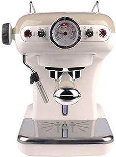Machine à café italienne semi-automatique rétro petite maison mini minuteur machine à café lait pétillant température cons...
