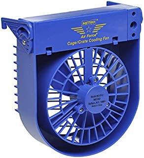 MPP Dog Cooling Hanging Crate Fans Pet Cage Cold Airflow Summer Travel Two Speeds