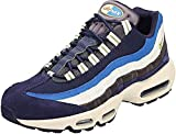 Nike Air MAX 95 PRM, Zapatillas Hombre, Multicolor (Blackened Blue/Camper Green/Monarch 001), 44.5 EU