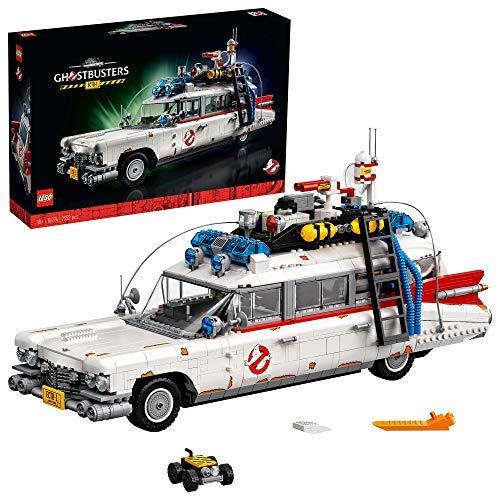 LEGO10274CreatorECTO-1delosCazafantasmasMaquetaGrandedeCochedeGhostbustersModelodeColeccionistaparaAdultos