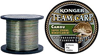 Konger Metron Specialist Pro Carp /& Feeder 150 m Hilo de Pesca para Carpas