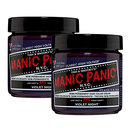 Manic Panic Violet Night Hair Dye Classic 2PK