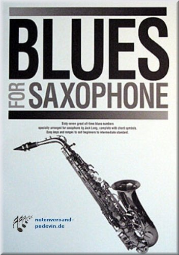 Blues for Saxofoon - saxofoon noten [muziek]