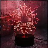 Xiaoaigegame Of Thrones House Una Canción De Hielo Y Fuego 3D Led Lámpara De Mesa De Luz Nocturna Decoración De Dormitorio Niño Niño Juguetes Regalo De Navidad